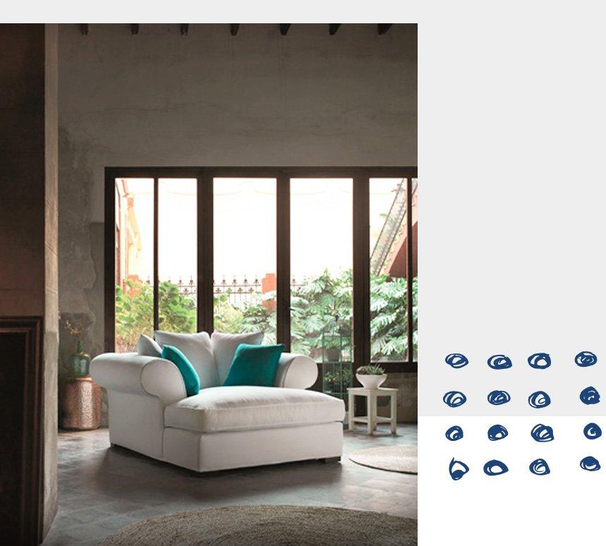 Mobiliario estilo mediterráneo