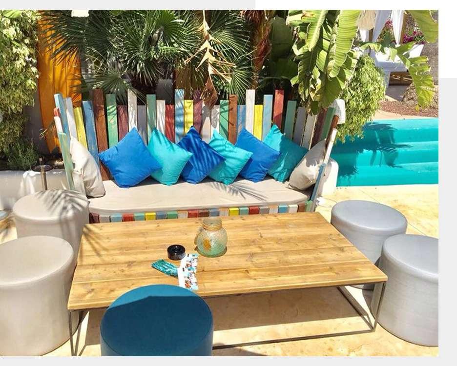 Muebles estilo mediterráneo