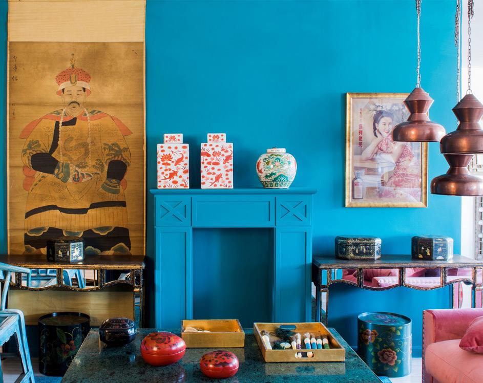muebles estilo oriental