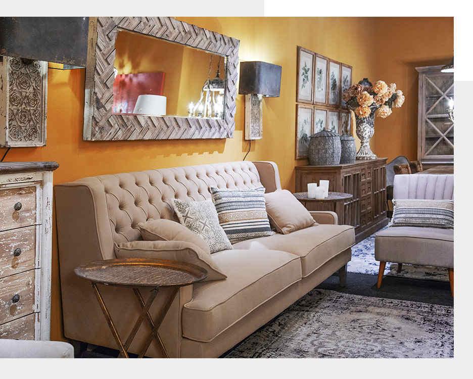 Muebles denzzo con un ambiente de estilo tnico tuo agency for Marcas de muebles