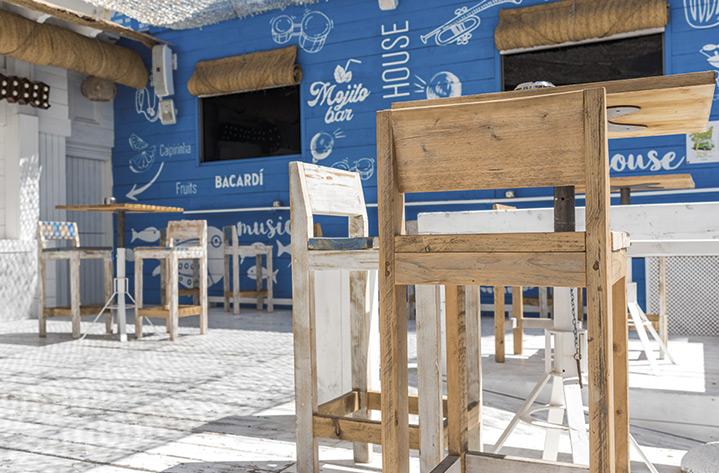 mobiliario para bares y restaurantes