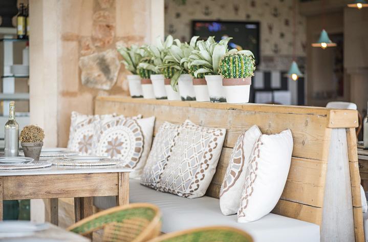 diseño de muebles para restaurantes