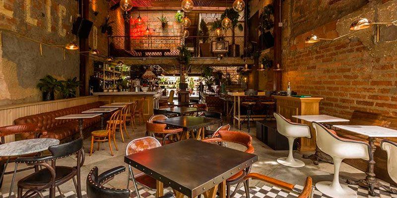 decoracion restaurantes vintage